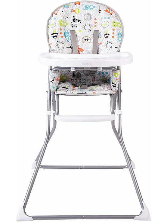 Red Kite Feed Me Compact Folding Highchair - Peppermint Trail