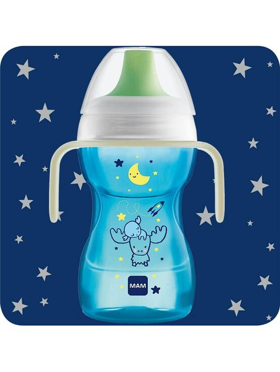 MAM Fun to Drink Night Cup 270ml - Choose your colour
