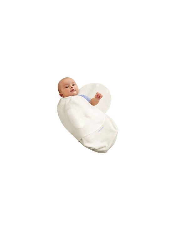 SwaddleMe Cotton Knit Large - Ivory