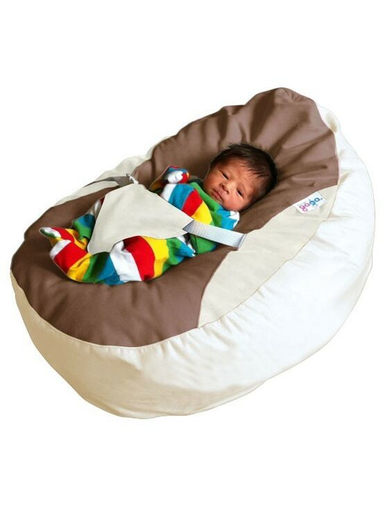 GaGa Pre-filled Washable Soft Stone Baby Bean Bag with Harness
