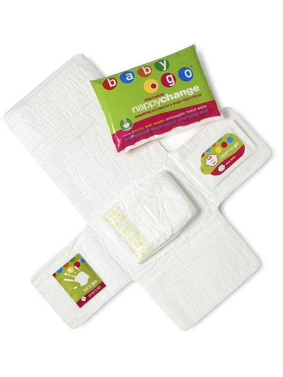 Koo-Di Baby Go Portable 4-in-1 Nappy Change Kit