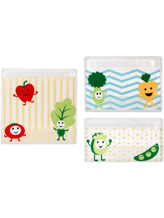 Dr Brown's Tummy Grumbles - Reusable Snack Bags