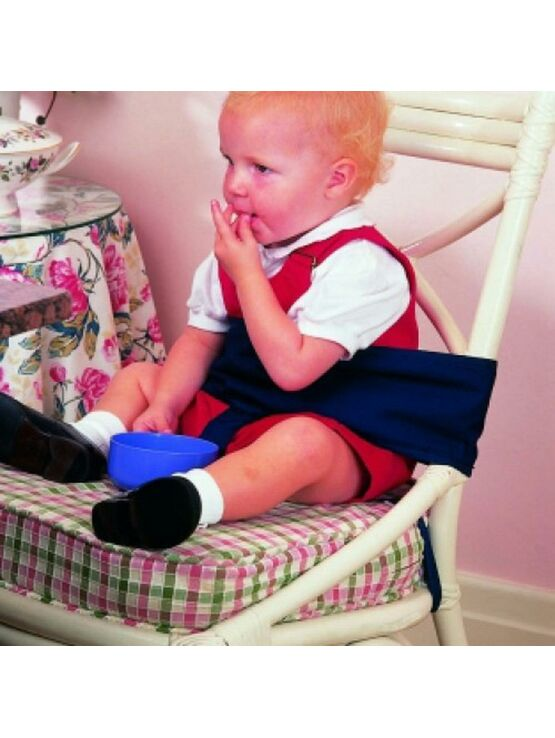 Clippasafe Toddler Dining Chair Harness - Black