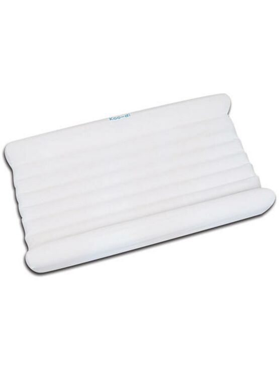 Inflatable Mattress, Pump & Fitted Sheet Set for Pop-Up Travel Bubble Cot