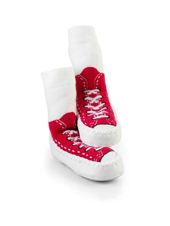 Baby/ Toddler Mocc Ons - Sneaker Red