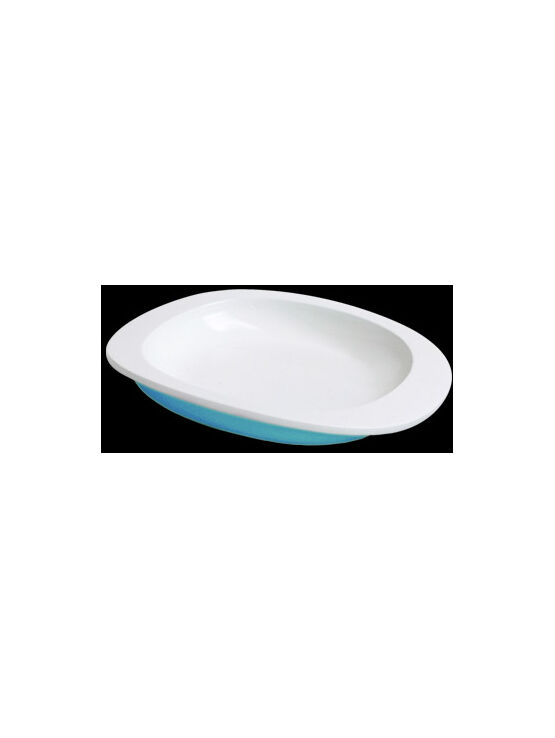 ToddlerTäble  Baby First Plate (flat) - Blue