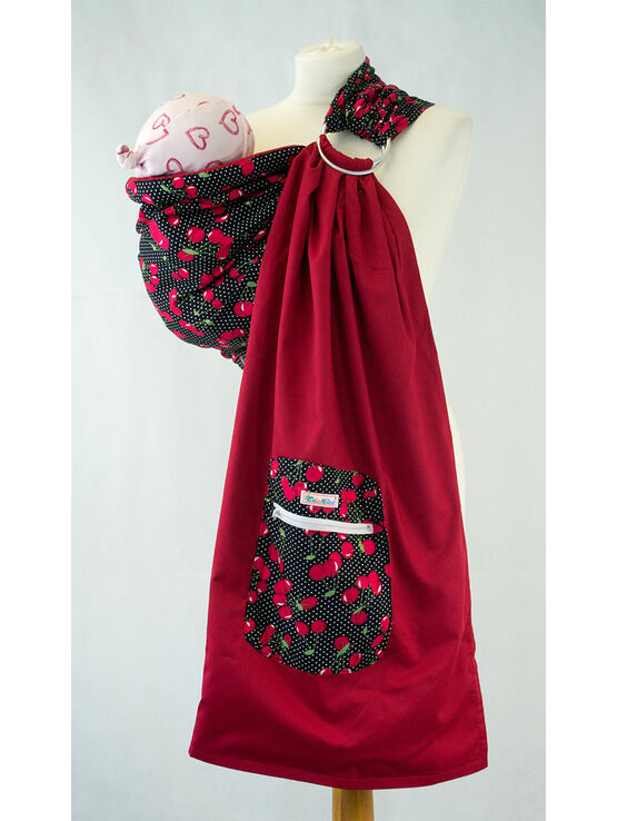 Ring Sling - Red Cherry