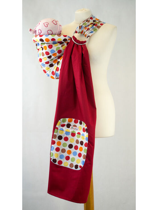 Palm and Pond Multi Coloured Polka Dot Ring Sling
