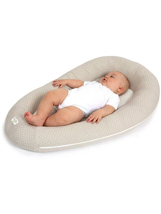 Purflo Breathable Baby Nest New Born - Soft Truffle