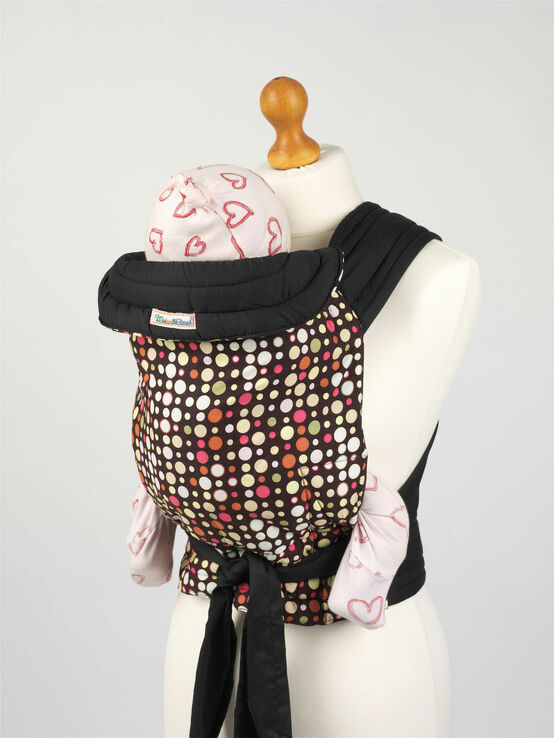 Multi Coloured Spots Mei Tai Baby Sling