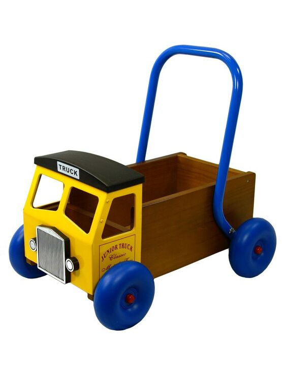 Baby Walker Truck - Yellow