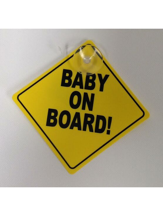 Babyway Gripfast Baby on Board Car Sign