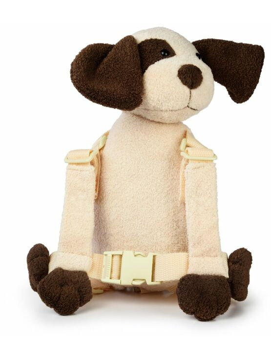 Goldbug Harness Buddy - Ivory Dog