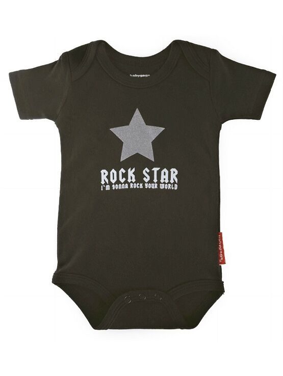 Xplorys Silly Souls Baby Body Suit Rock Star Small 0-3 months