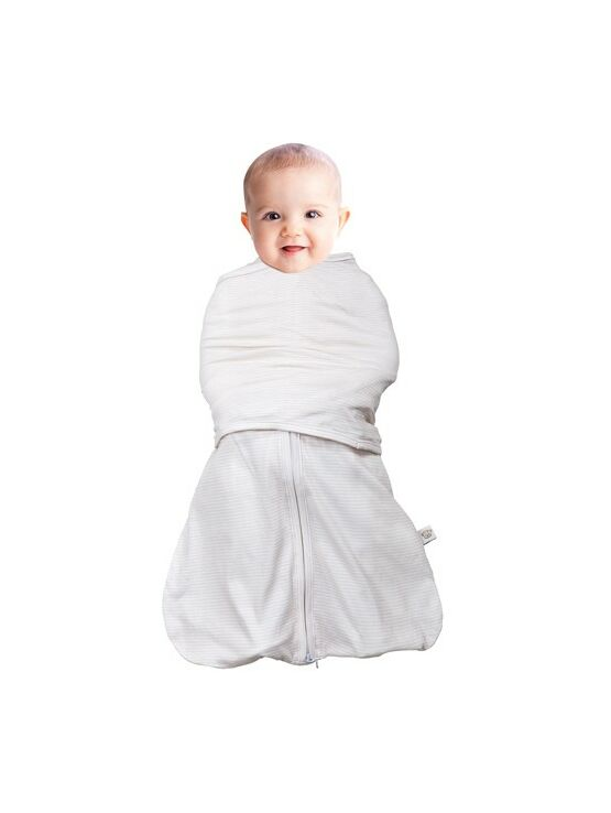 Clevamama Swaddle Bag 2 in 1 Cream 0-3 mths