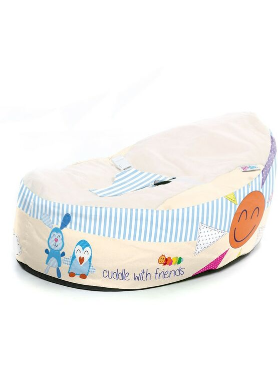 Gaga Cuddlesoft Pre-filled Baby Bean bag - Cuddle with Friends