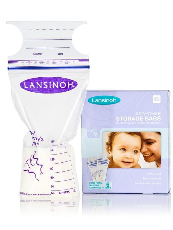 Lansinoh Breast Milk Storage Bags - 50 Pack
