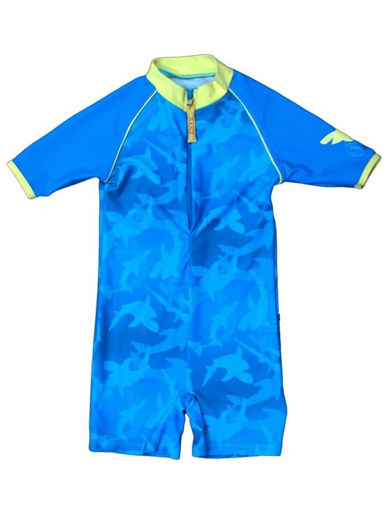 Boys One Piece UV Swimsuit