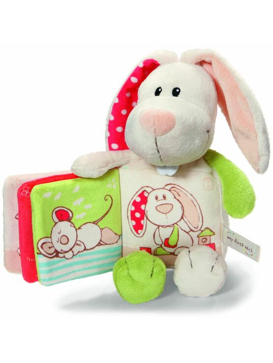 Soft Rabbit with Plush Book
