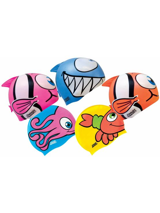 Kids Character Swimming Cap - Assorted designs