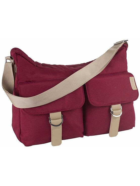 Koo-Di Hobo Shoulder Bag - Raspberry